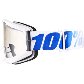 100% Strata Lunettes de protection, equinox-clear